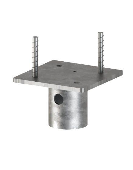 Postech Screw Pile Concrete Head 6 x 6