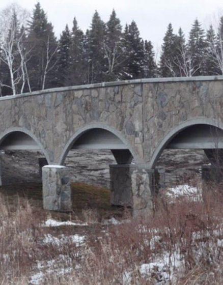 Vistech project - Stone bridge in Ascension