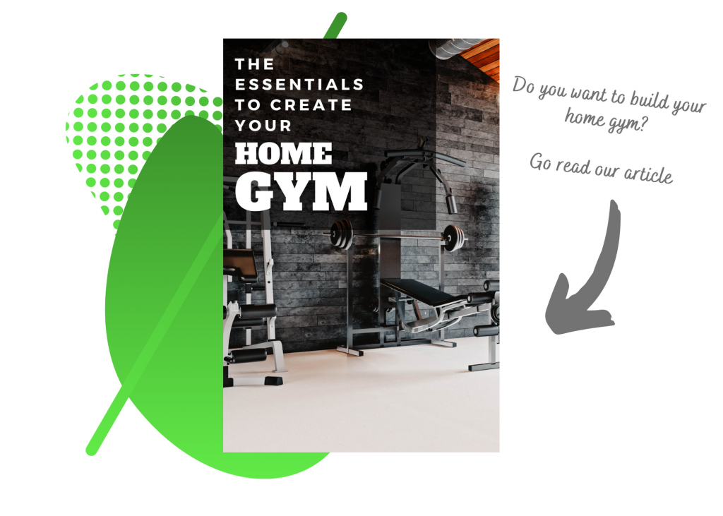 A link towards an article about creating a home gym that might require a home addition.