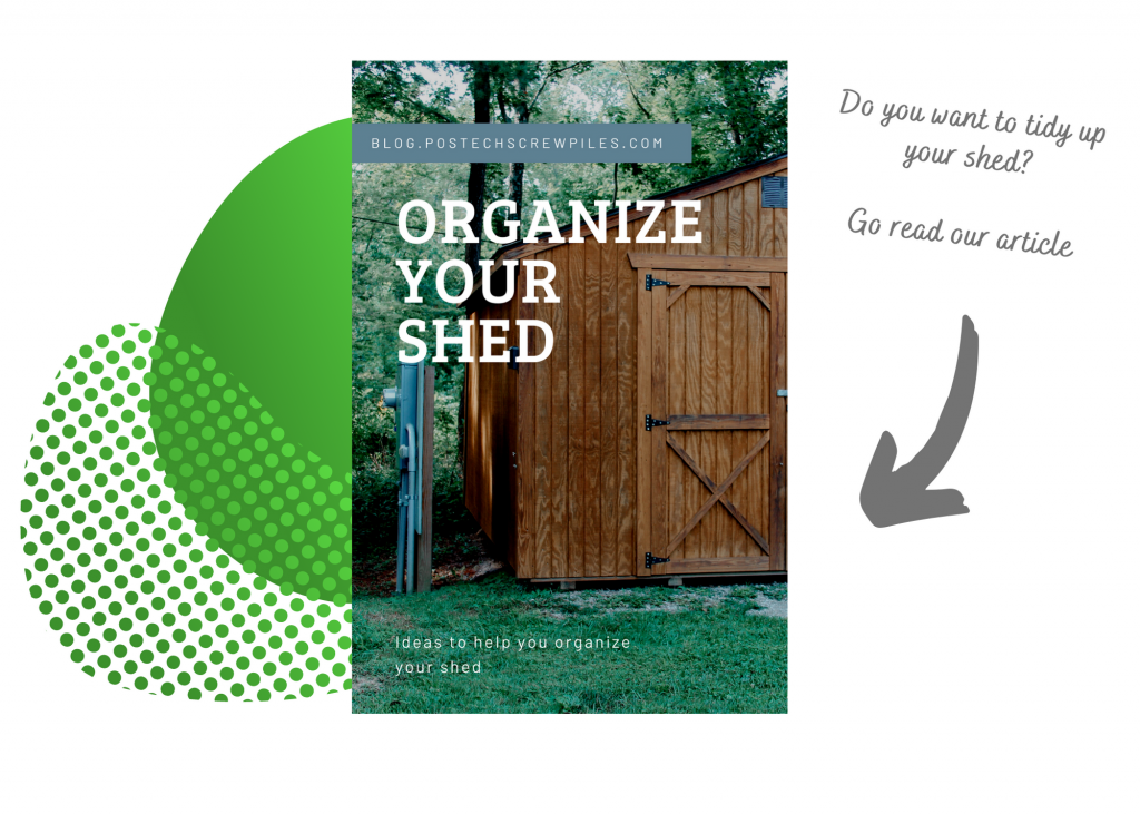 You can see a link to an article about shed organization.