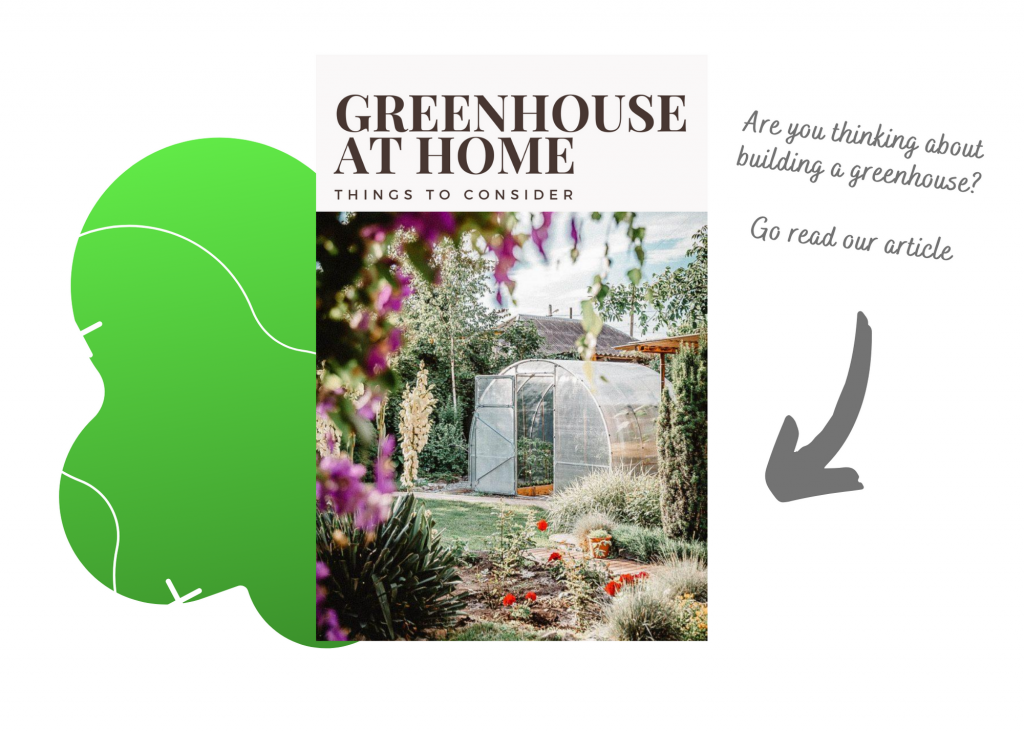 You see a link to an article about greenhouses.